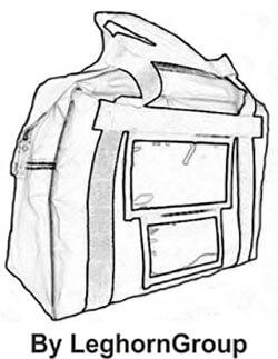 borsa trasporto denaro london disegno tecnico