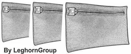 borse porta valori madrid misure