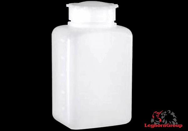 Bottiglie In Plastica Sigillabili Rettangolari Bocca Larga