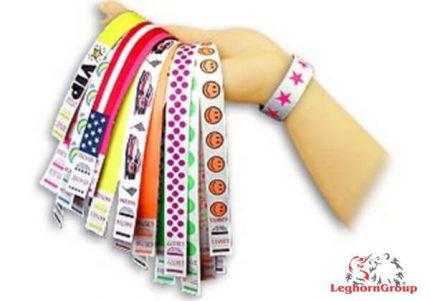 braccialetti identificativi in tyvek
