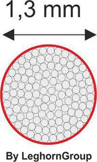 filo nylon plastificato disegno tecnico