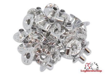 sigilli ad occhiello in alluminio per caseifici