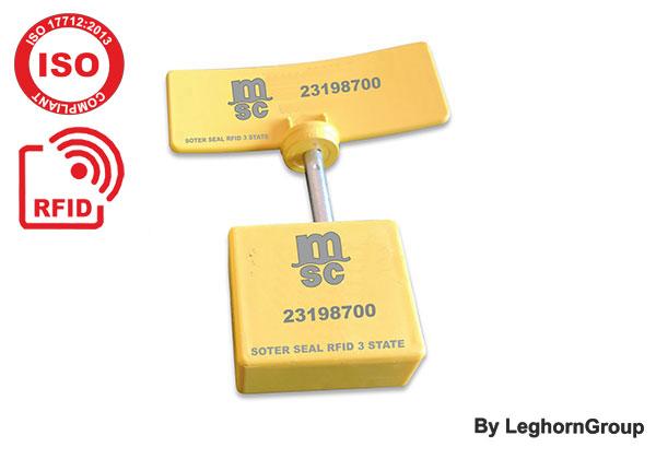 Sigillo A Chiodo RFID UHF Tre Stati SOTER SEAL