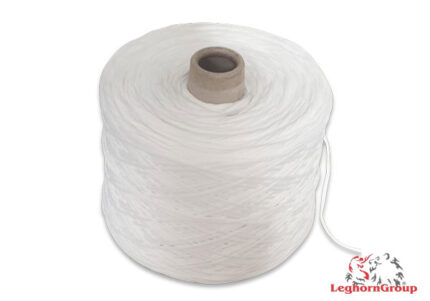 cordino elastico per mascherine bianco