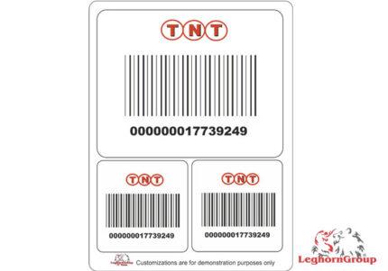 etichette per la logistica