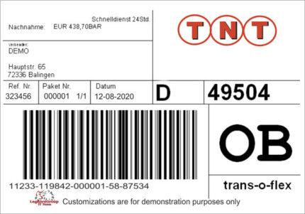 etichette logistiche antimanomissione