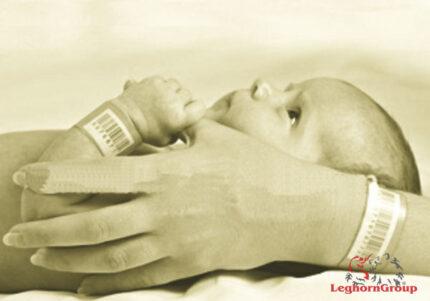 braccialetti identificativi madre bambino