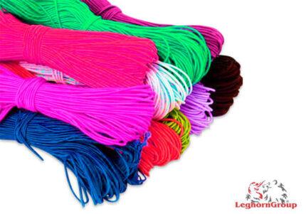 cordino elastico colorato per mascherine
